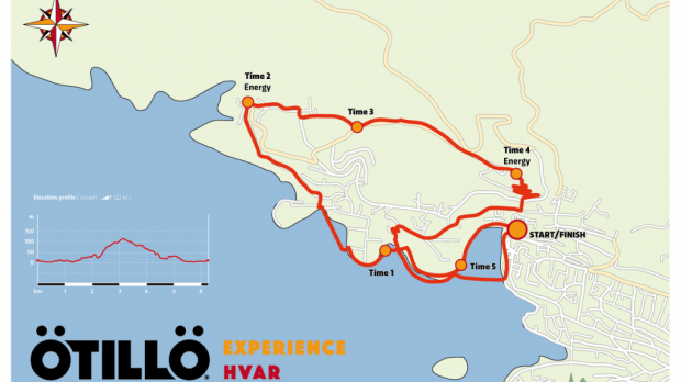 Map OTILLO Experience Hvar