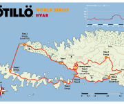 Map OTILLO World Series Hvar